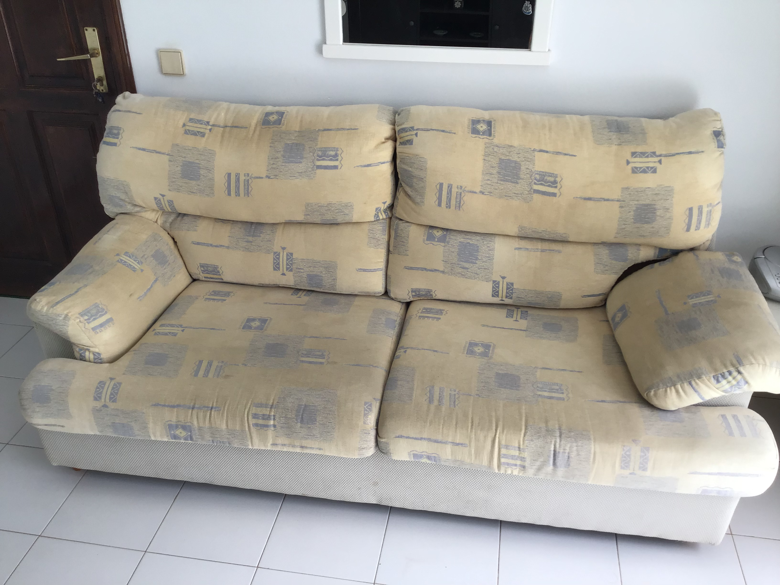 For sale: Couch and two reclining chairs