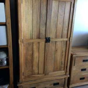 For sale: Solid Mango Wardrobe from Oakfurnitureland (2 Available) - €185
