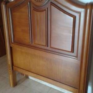 For sale: 2 X WOODEN HEADBOARDS FOR SINGLE BEDS