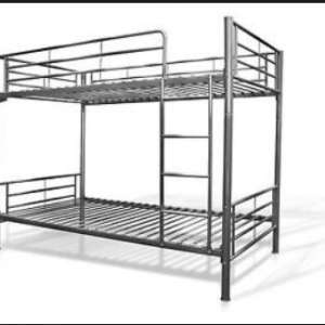 For sale: Bunk Beds (disassembled) with two matresses - hardly ever used - €55